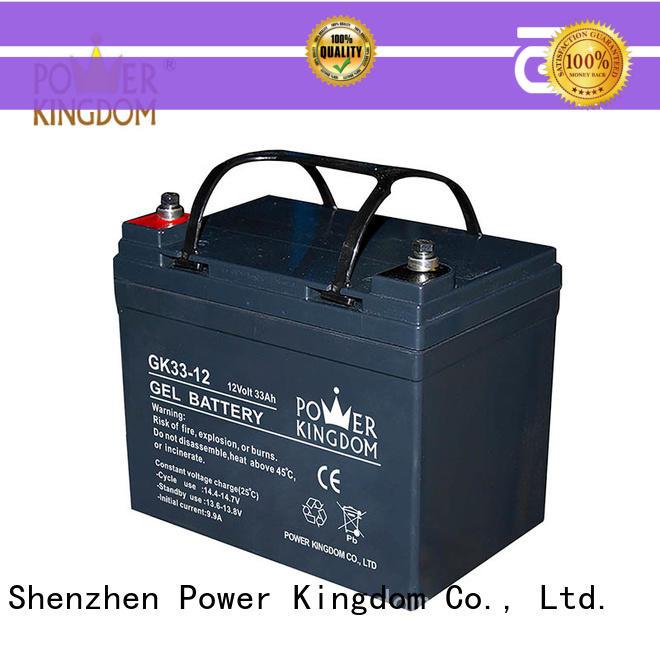 Power Kingdom comprehensive after-sales service agm vrla battery directly sale communication equipment