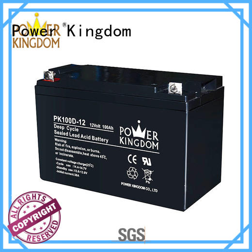 deep cycle lead acid battery 12v supplier Power Kingdom