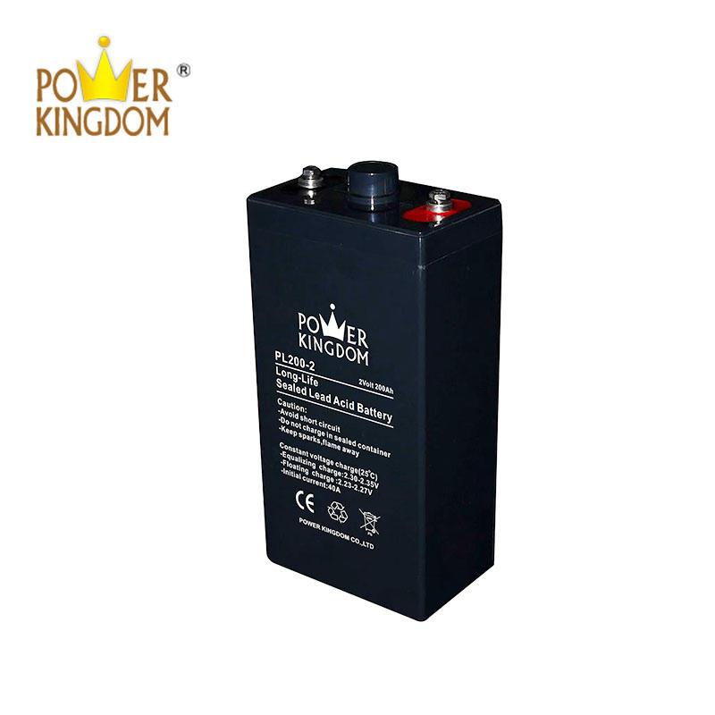 2v 200ah long life Vrla Solar Battery