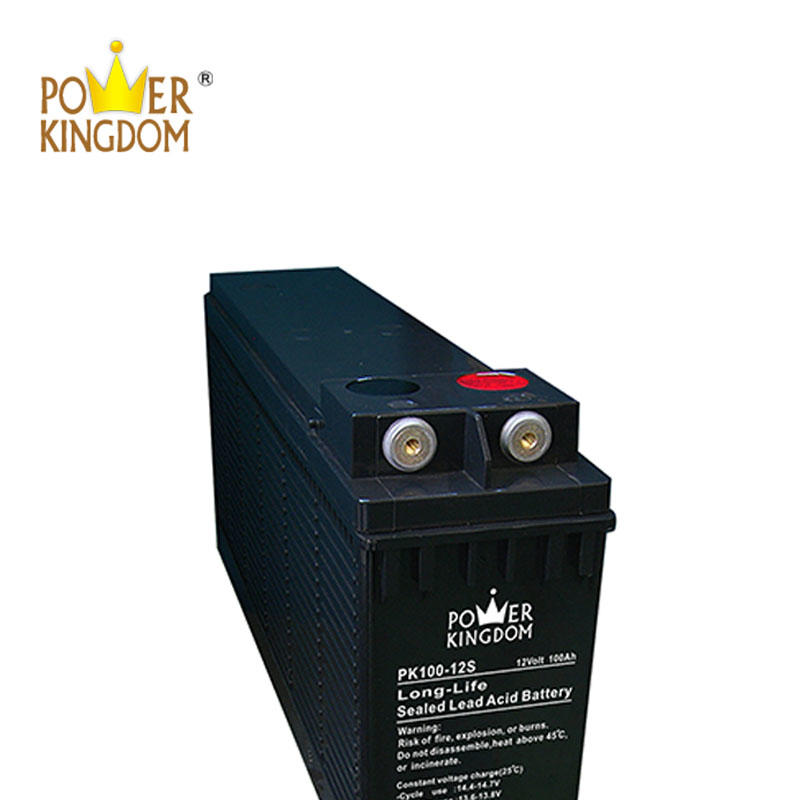 Front Terminal 12V 100AH UPS Power Supply Battery