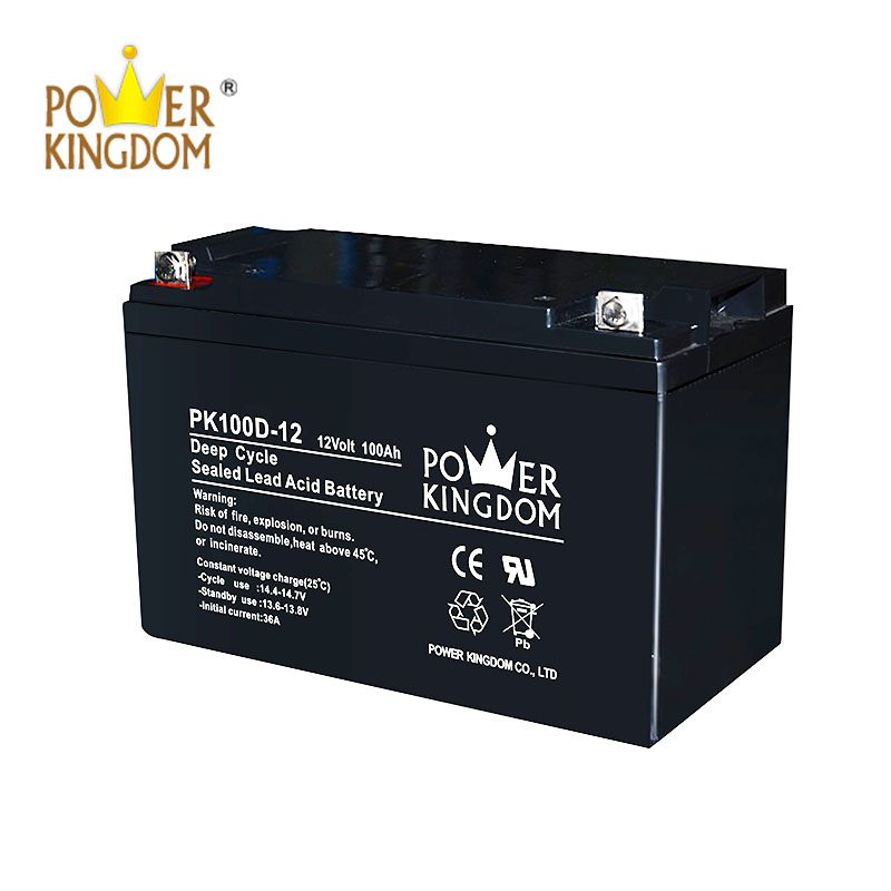 Power Kingdom Best charging gel cell deep cycle batteries personalized vehile and power storage system-2