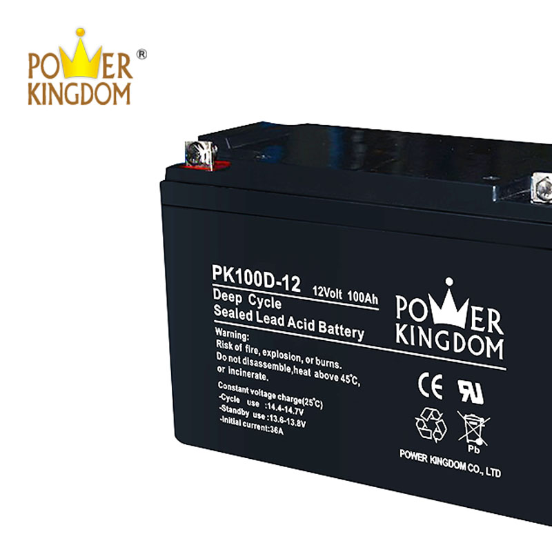 Power Kingdom Best charging gel cell deep cycle batteries personalized vehile and power storage system-1