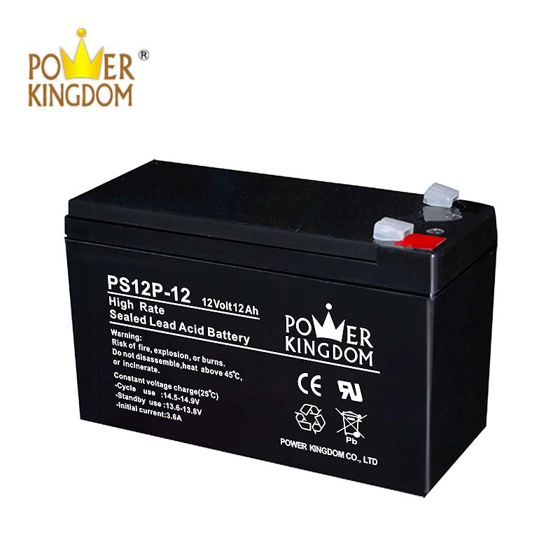 Power Kingdom Low Pressure Venting System lead acid battery backup widely use UPS & EPS system-2