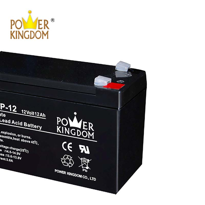 Power Kingdom Low Pressure Venting System lead acid battery backup widely use UPS & EPS system-1
