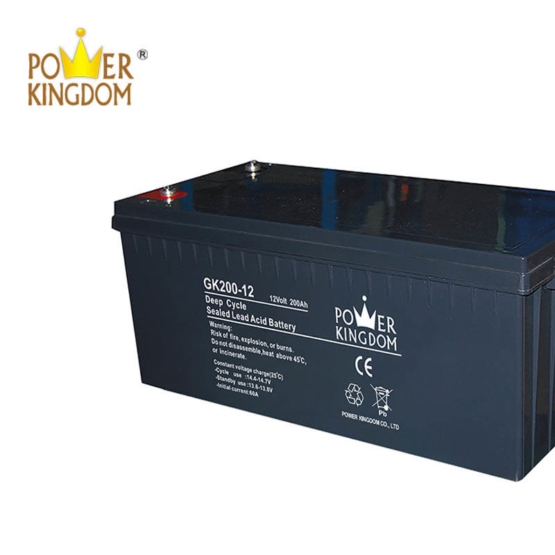 12V 200AH GEL Deep Cycle Solar Battery