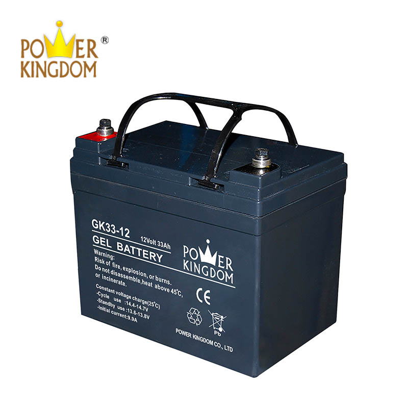 Power Kingdom Top mf superior gel battery for business fire system-2