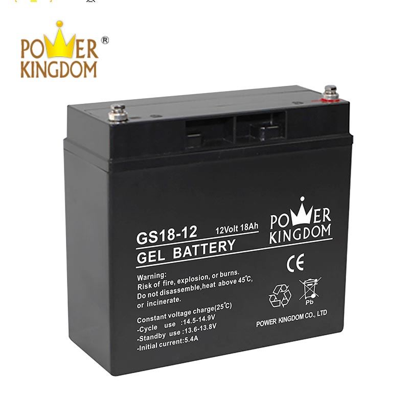 Power Kingdom advanced agm batteries factory price fire system-2