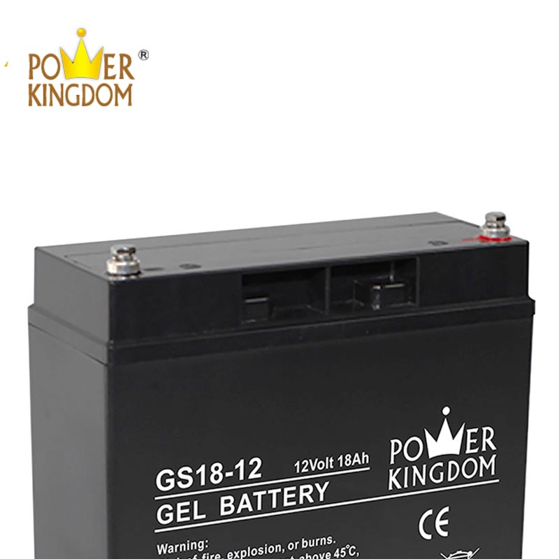 Power Kingdom advanced agm batteries factory price fire system-1