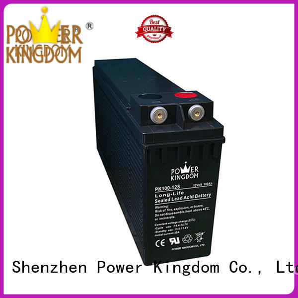 Power Kingdom Front terminal design compact ups battery backup supplier power tools