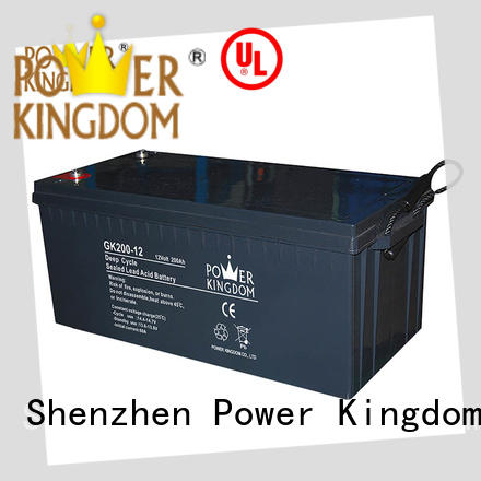 Power Kingdom deep gel cell deep cycle battery company telecommunication