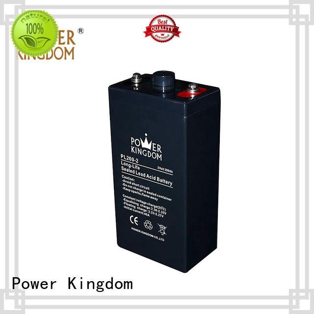 Power Kingdom new grid design 12v vrla battery inquire now Railway systems