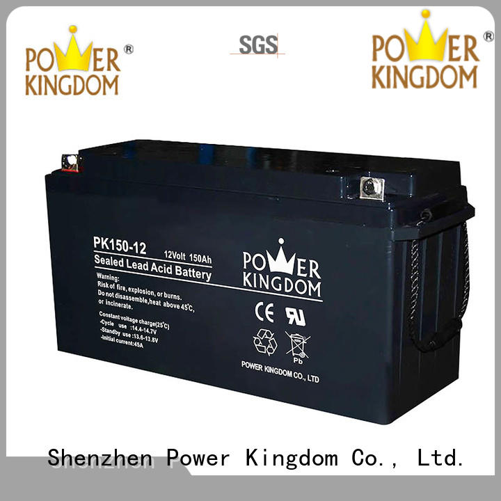 Power Kingdom rechargeable sealed lead acid battery inquire now wind power system