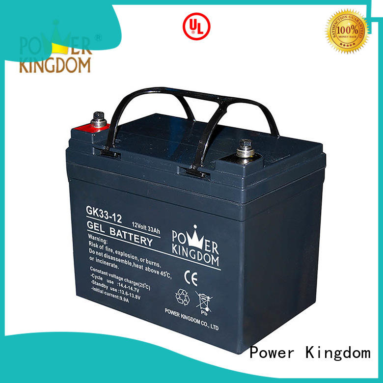 Power Kingdom comprehensive after-sales service agm solar battery china wholesale website electric toys