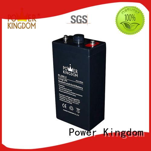 Power Kingdom vrla lead acid battery design Railway systems