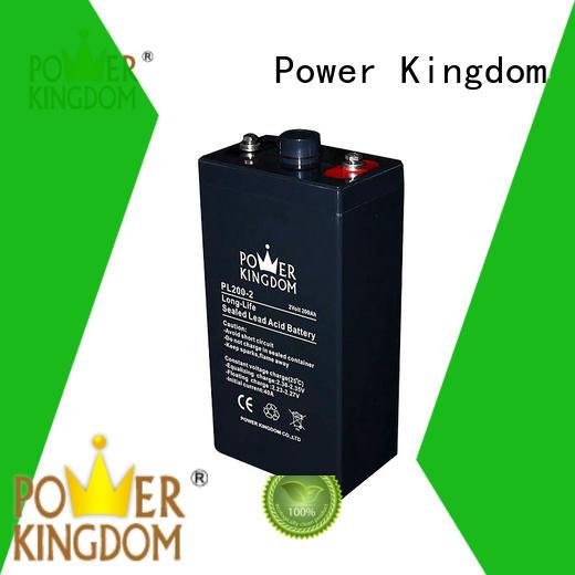 Power Kingdom long rechargeable vrla battery 12v UPS & EPS system