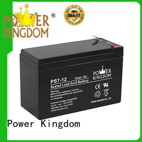 Power Kingdom sealed lead acid battery 12v 7ah promotion electric forklift