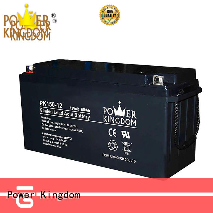 Power Kingdom high consistency ups battery pack design solor system