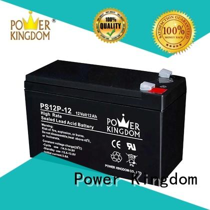 Power Kingdom ups lead acid battery discharge with good price