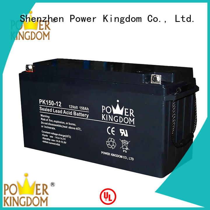 high consistency rechargeable sealed lead acid battery design medical equipment