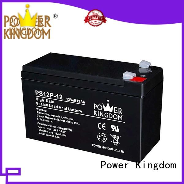 Power Kingdom ups lead acid battery self discharge factory price Power tools