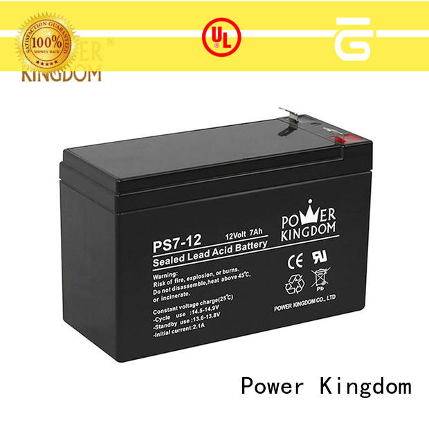 Power Kingdom ups battery promotion electric forklift