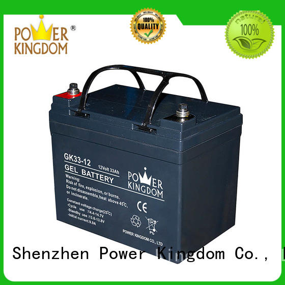 Power Kingdom comprehensive after-sales service agm solar battery directly sale electric toys
