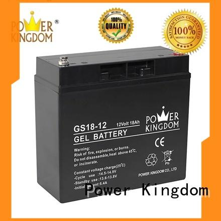 Power Kingdom comprehensive after-sales service agm lead acid battery china wholesale website fire system