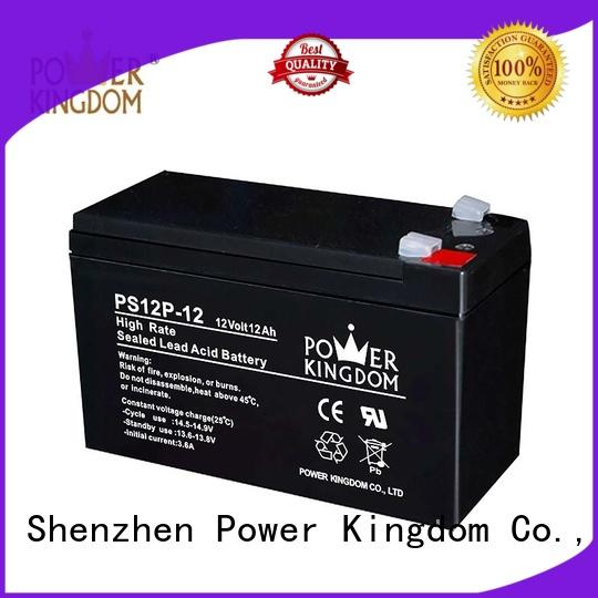 Power Kingdom lead acid battery self discharge inquire now