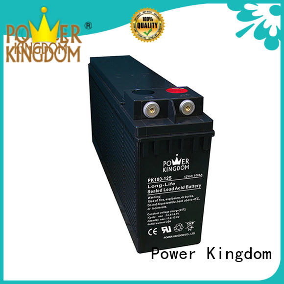 Power Kingdom centralized venting system front terminal battery wholesale railway station