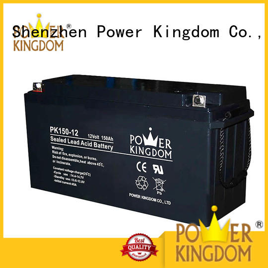 Power Kingdom rechargeable sealed lead acid battery inquire now solor system