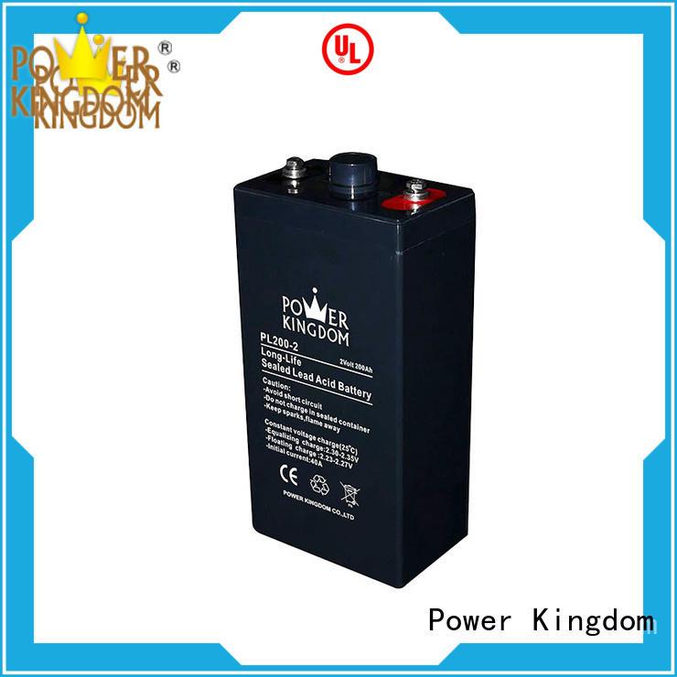 Power Kingdom Special additives 12v vrla battery design UPS & EPS system