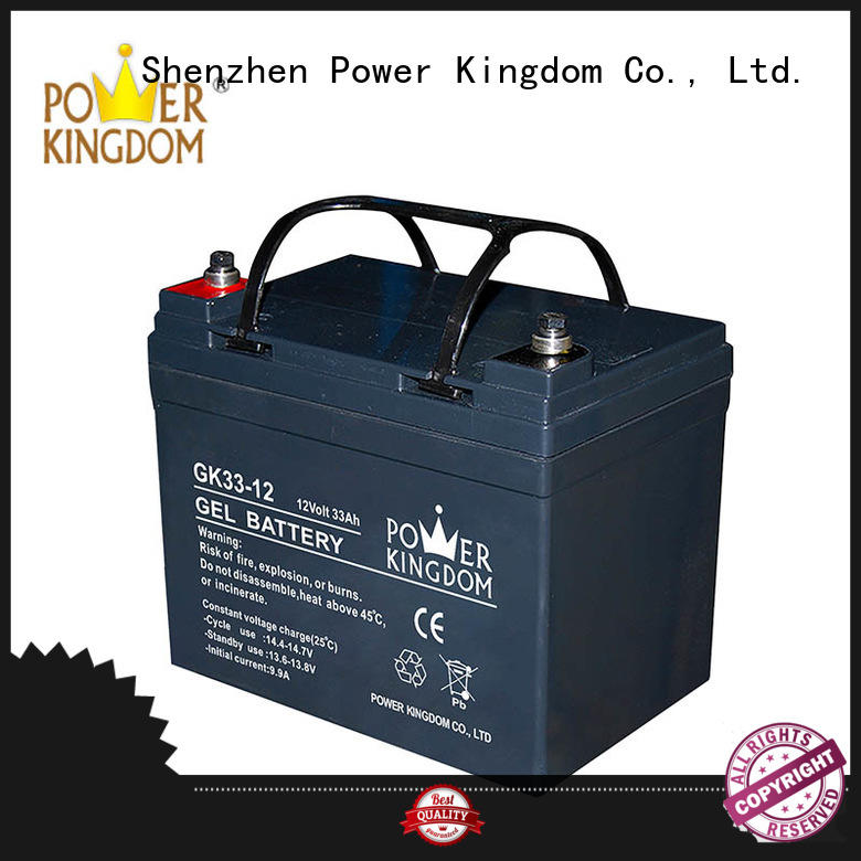 Power Kingdom vrla gel battery factory price communication equipment