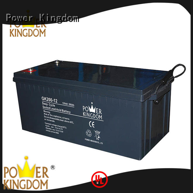 Power Kingdom 12v agm deep cycle battery company standby power supplies