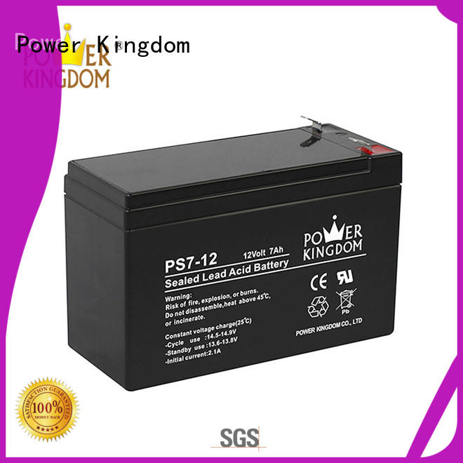 Power Kingdom sealed lead acid batteries china factory electric forklift