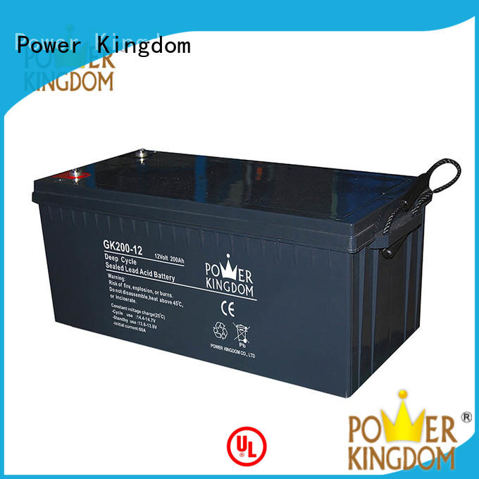 Power Kingdom 12v agm deep cycle battery company telecommunication