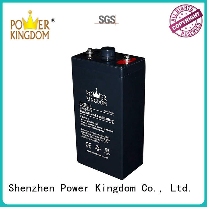 Power Kingdom low internal resistance 12v solar battery inquire now Railway systems