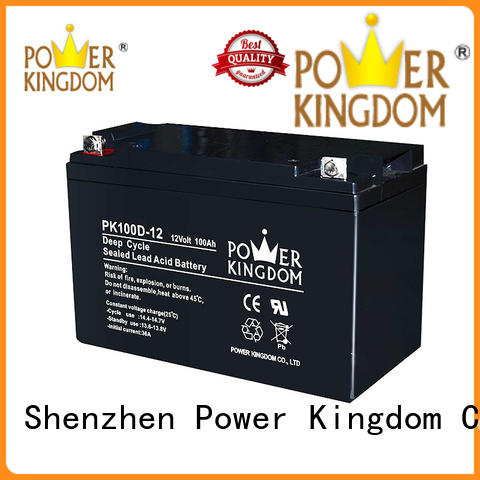 Power Kingdom deep cycle lead acid battery factory price vehile and power storage system