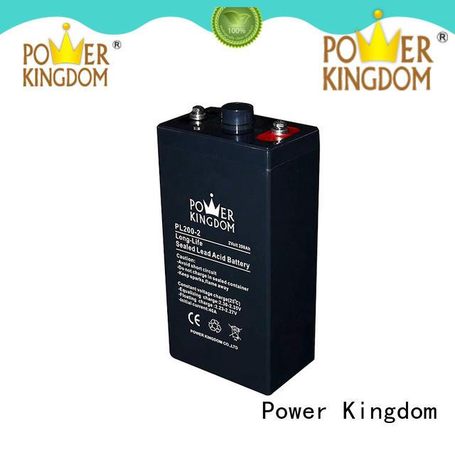 Power Kingdom solar 12v vrla battery factory UPS & EPS system