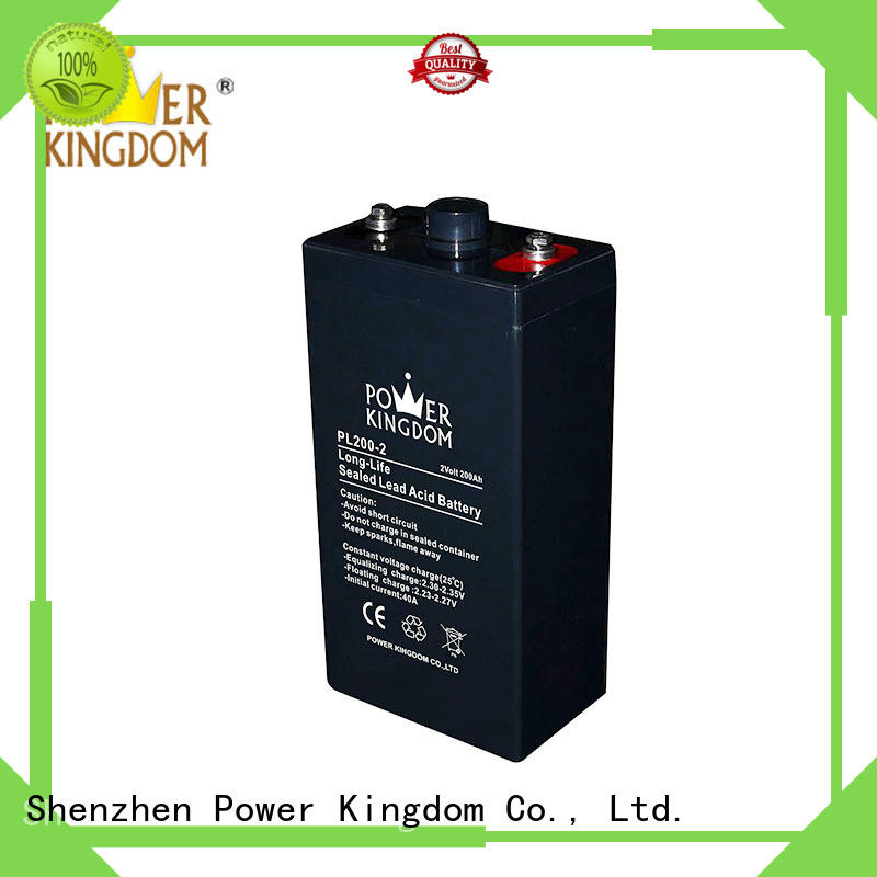 Power Kingdom low internal resistance vrla battery factory UPS & EPS system