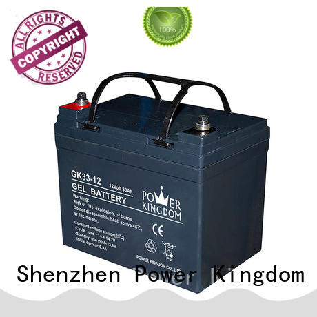 Power Kingdom gel battery factory price communication equipment