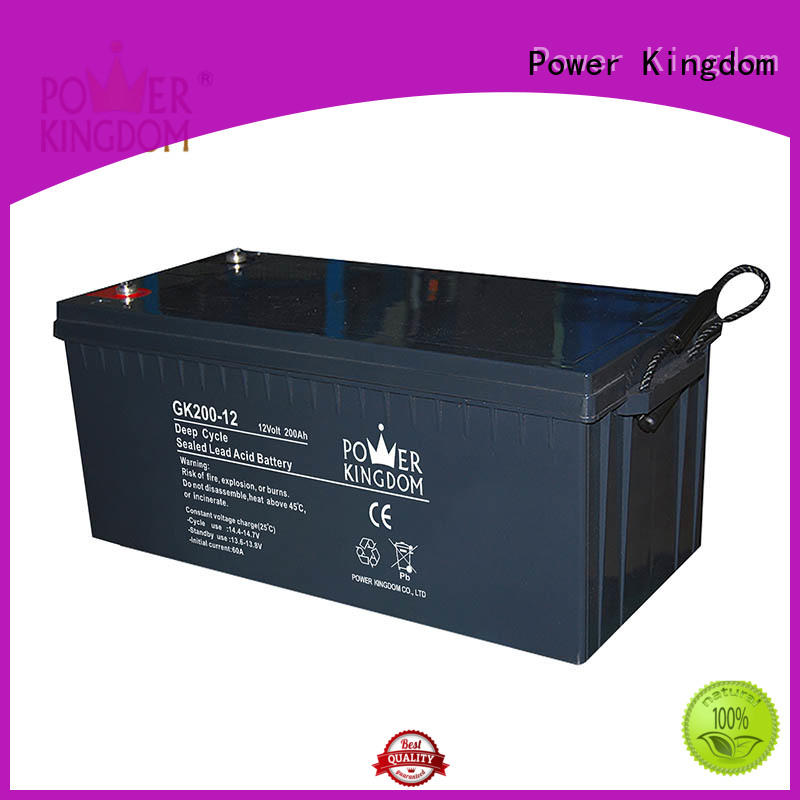 Power Kingdom cycle 12 volt agm deep cycle battery company telecommunication