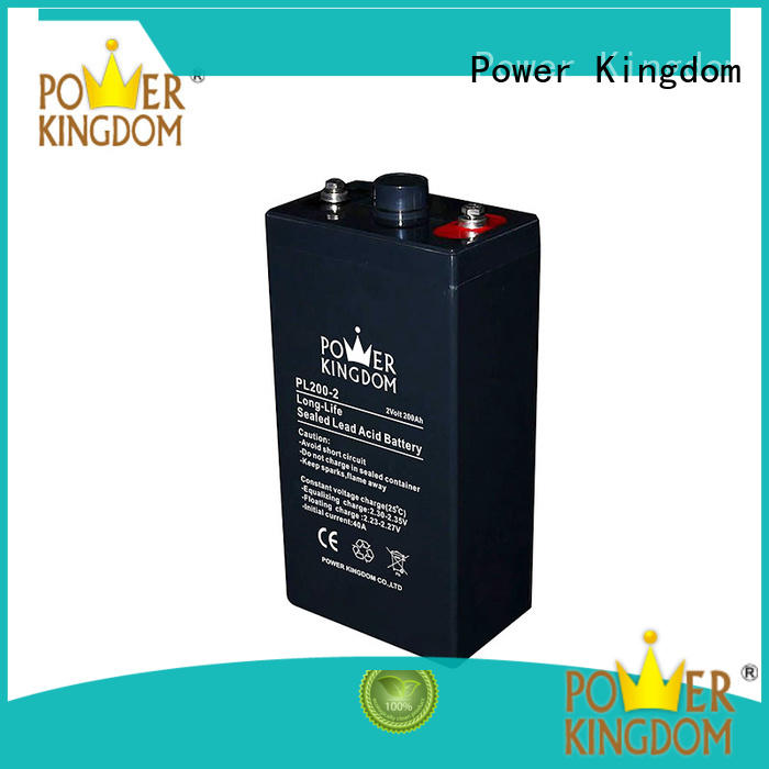 Power Kingdom long vrla lead acid battery inquire now Railway systems