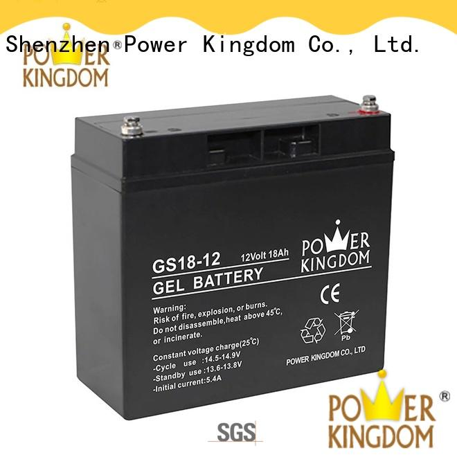Power Kingdom comprehensive after-sales service 12v gel cell battery fire system
