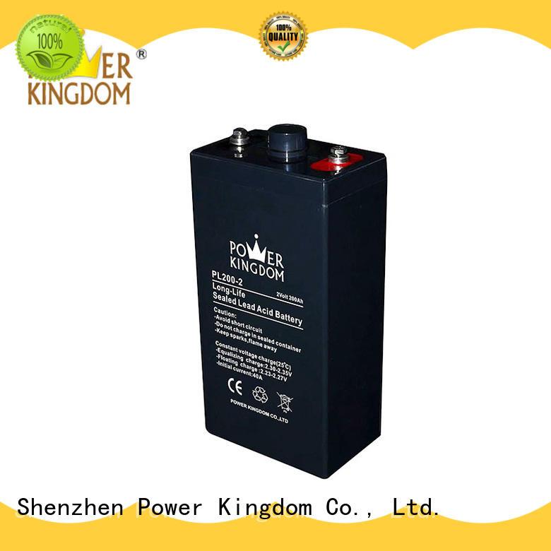 Power Kingdom vrla lead acid battery factory Railway systems