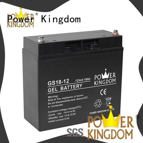 Power Kingdom comprehensive after-sales service vrla gel battery china wholesale website electric toys