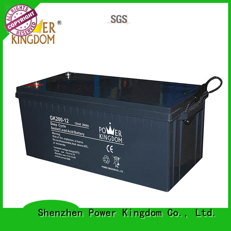 Power Kingdom wide operating temperature gel cell battery in Power Kingdom telecommunication