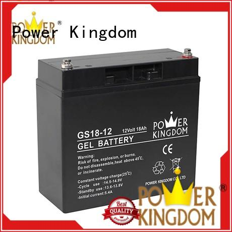 Power Kingdom comprehensive after-sales service 100ah agm battery factory price communication equipment