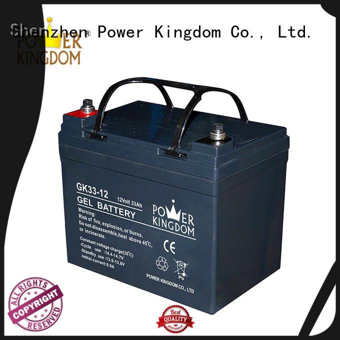 Power Kingdom agm solar battery directly sale electric toys