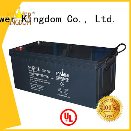 Power Kingdom sealed agm deep cycle battery company telecommunication