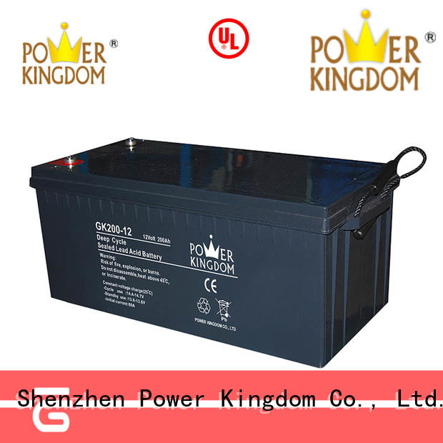 stable performance 12 volt agm deep cycle battery China manufacturer Automatic door system